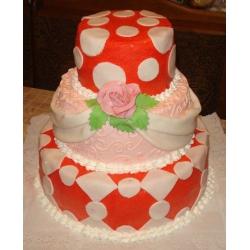 Свадебный торт Арлекино: заказать, доставка