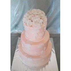 Свадебный торт Абрикосовый аромат: заказать, доставка