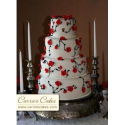 Свадебный торт Кармен: заказать, доставка