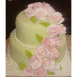 Свадебный торт Романс о влюбленных: заказать, доставка