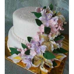Свадебный торт Краски любви: заказать, доставка