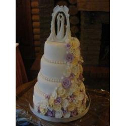 Свадебный торт Вечная любовь: заказать, доставка