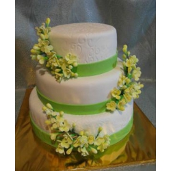 Свадебный торт Фреш Спринг: заказать, доставка