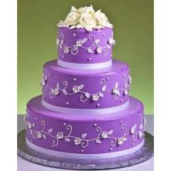 Свадебный торт Лиловая Глазурь: заказать, доставка