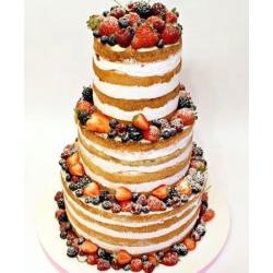 Свадебный торт без мастики Ассорти: заказать, доставка