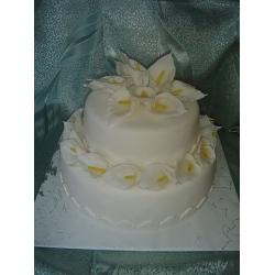 Свадебный торт Цветы любви: заказать, доставка