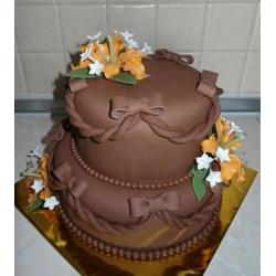 Мужской торт Шоколадный стиль