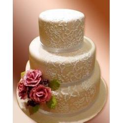 Свадебный торт Дамасская роза: заказать, доставка