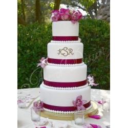 Свадебный торт Исана: заказать, доставка