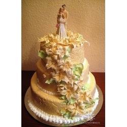 Свадебный торт Симфония любви: заказать, доставка