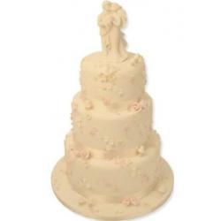 Свадебный торт Нежность чувств: заказать, доставка