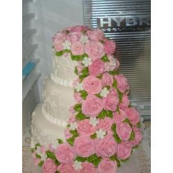 Свадебный торт Акварель: заказать, доставка