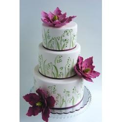 Свадебный торт Лилия полей: заказать, доставка