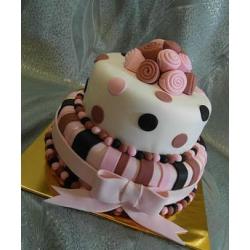 Свадебный торт Веселая свадьба-мини: заказать, доставка