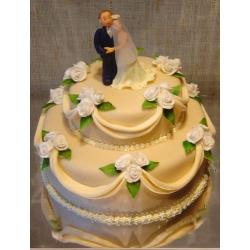 Свадебный торт Ванильная Любовь: заказать, доставка