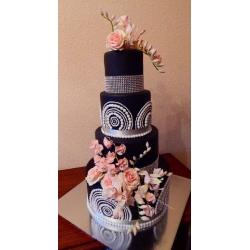 Свадебный торт Роскошный вечер: заказать, доставка