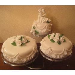 Свадебный торт Великолепие белого: заказать, доставка