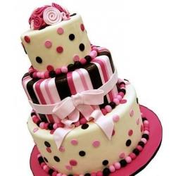 Свадебный торт Веселая свадьба: заказать, доставка