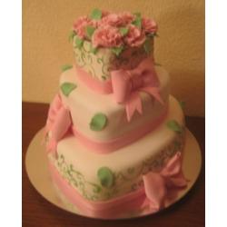 Свадебный торт Райское наслаждение: заказать, доставка