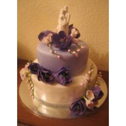 Свадебный торт Капель: заказать, доставка