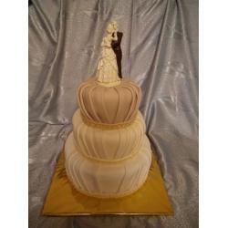 Свадебный торт Каскад желаний: заказать, доставка