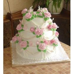 Свадебный торт Вероника: заказать, доставка