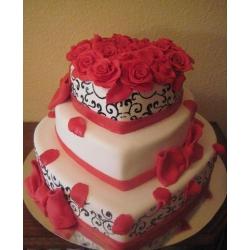 Свадебный торт Фламенко: заказать, доставка