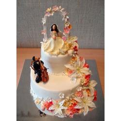 Свадебный торт Райские острова: заказать, доставка