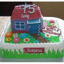 Торт на заказ Домик на Опушке