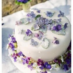 Свадебный торт Полевые фиалки: заказать, доставка