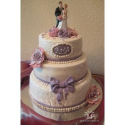 Свадебный торт Ангаже: заказать, доставка