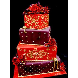 Свадебный торт Роскошь: заказать, доставка