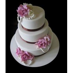Свадебный торт Любимая мелодия: заказать, доставка