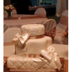 Свадебный торт Роскошный атлас: заказать, доставка