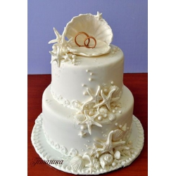 Свадебный торт Дно океана: заказать, доставка
