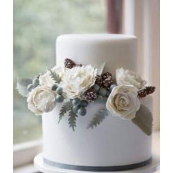 Свадебный торт Зима: заказать, доставка