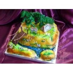 Торт для любителя природы