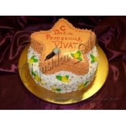 Торт кремовый для звезды