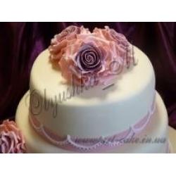 Свадебная роза фрагмент