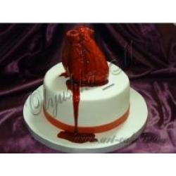 Торт сердце для любимого