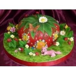 Торт клубничка: заказать, доставка