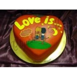 Торт Любовь это ...