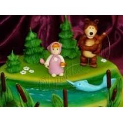 Маша и Медведь на рыбалке (фрагмент): заказать, доставка