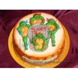 Торт Черепашки Нинзи в 2.5D: заказать, доставка