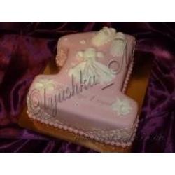 Торт единичка с платьицем: заказать, доставка