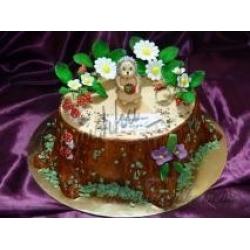 Торт с ёжиком: заказать, доставка