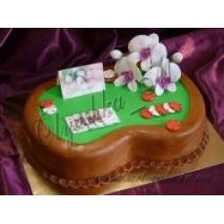 Торт Покерный стол на 8 Марта