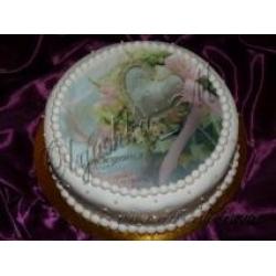 Фото торт с розами