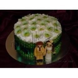 Свадебный с Ромашками
