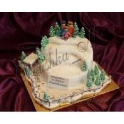 Торт горнолыжный курорт